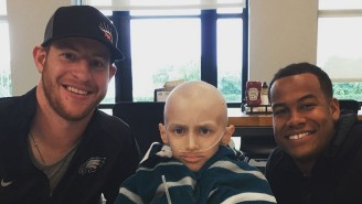 Carson Wentz Is Helping The Family Of 'The Dutch Destroyer' Go To The Super Bowl