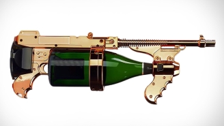 This Champagne Gun Is A Lavish And Badass Party Weapon