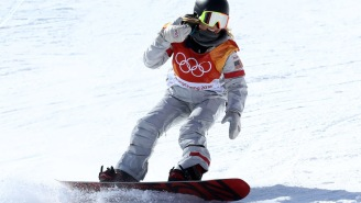 Of Course 17-Year-Old Chloe Kim Had Her Phone In Her Pocket While She Won Gold In The Halfpipe