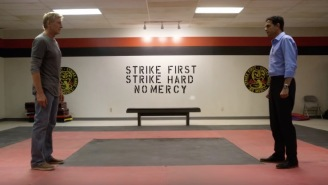 The Cobra Kai Gym IS BACK In This Clip Featuring Johnny And Daniel That'll Get You Pumped Up