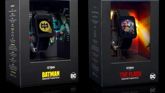 Get In Shape While You Save The City With Two New Interactive DC Comics Superhero Smartwatches