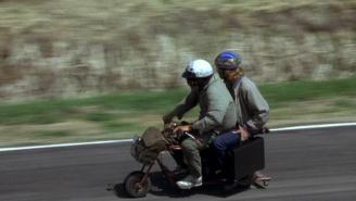 You Can Buy The Iconic Mini Bike From 'Dumb And Dumber' And You Won't Have To Trade-In Your Van