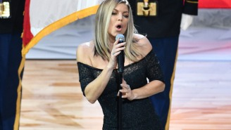 Fergie Also Delivered A Ghastly Rendition Of The National Anthem During An NFL Game In 2011