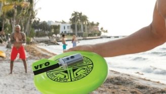 This Frisbee Has A Built-In 720p HD Camera For Awesome Action Footage