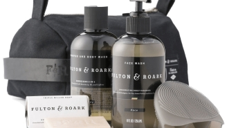 Fulton And Roark's Dopp Kit Set Is 100% American-Made And Includes All You Need For Travel