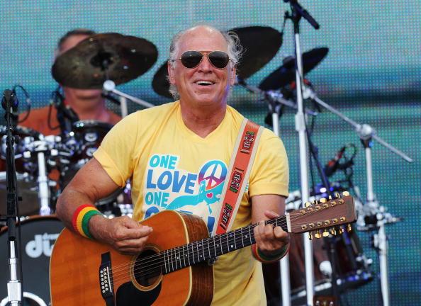 Musician Jimmy Buffett performs onstage