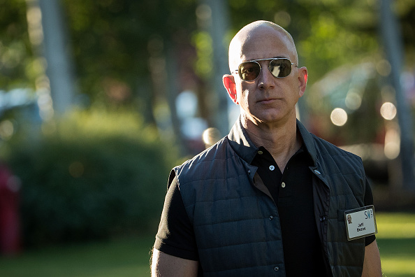 Jeff Bezos, Chairman and founder of Amazon.com and owner of The Washington Post