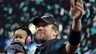 Nick Foles' Post-Game Speech About Overcoming Failure Will Make Your Back Hair Stand Up