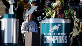 An Eagles Fan Already Has A Tattoo Of Jason Kelce From The Championship Parade