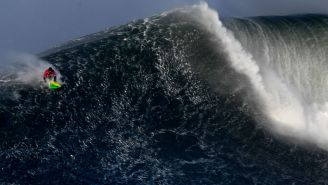A 21-Year-Old Surfer Won The Nazaré Challenge Last Weekend After Riding Skyscraper-Sized Waves