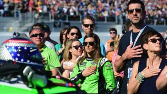 Danica Patrick's Father Takes A Shot At Aaron Rodgers In Facebook Post