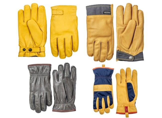 Hestra Leather Work Gloves Sale