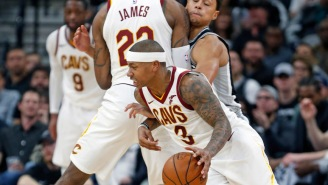 Isaiah Thomas Is Rooting For The Cavs So He Can Get A Ring For The 15 Games He Played With Them