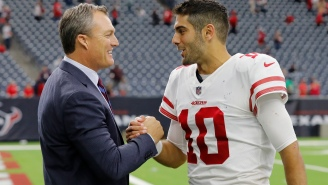 I've Never Felt More Poor Looking At The Details Of Jimmy Garoppolo's Monster Contract
