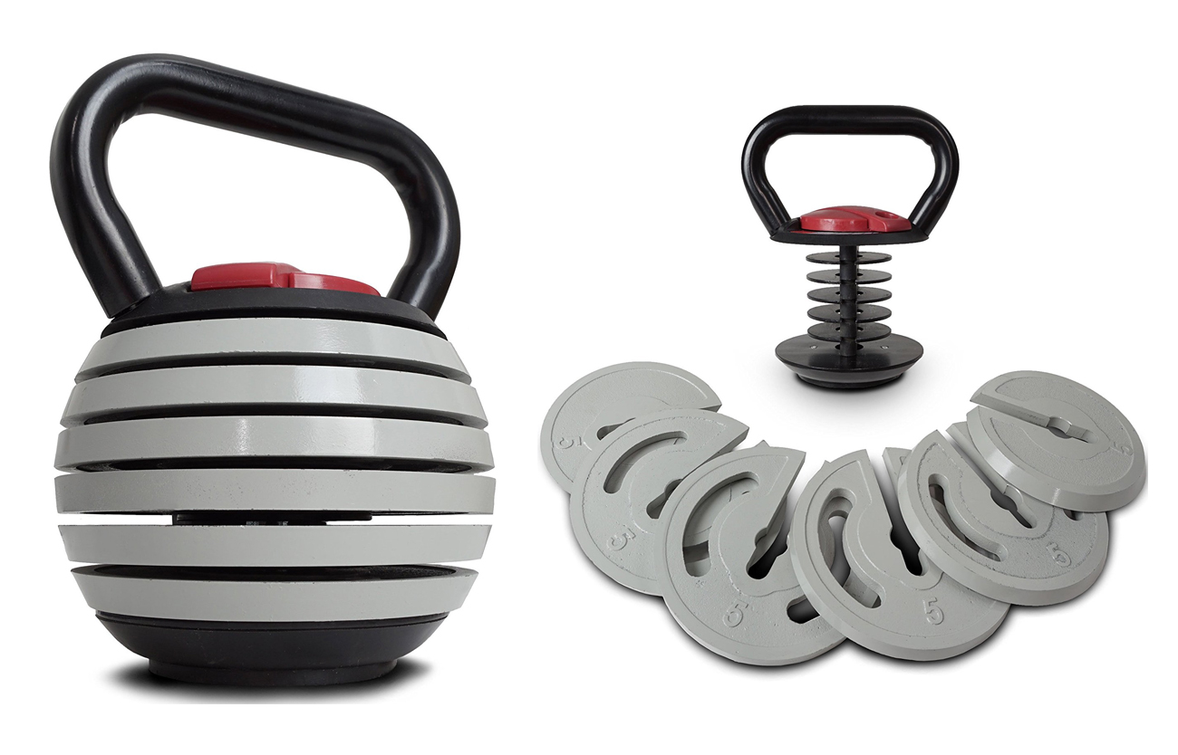 Save Money And Space With The Titan Fitness Adjustable Kettlebell Set – BroBible