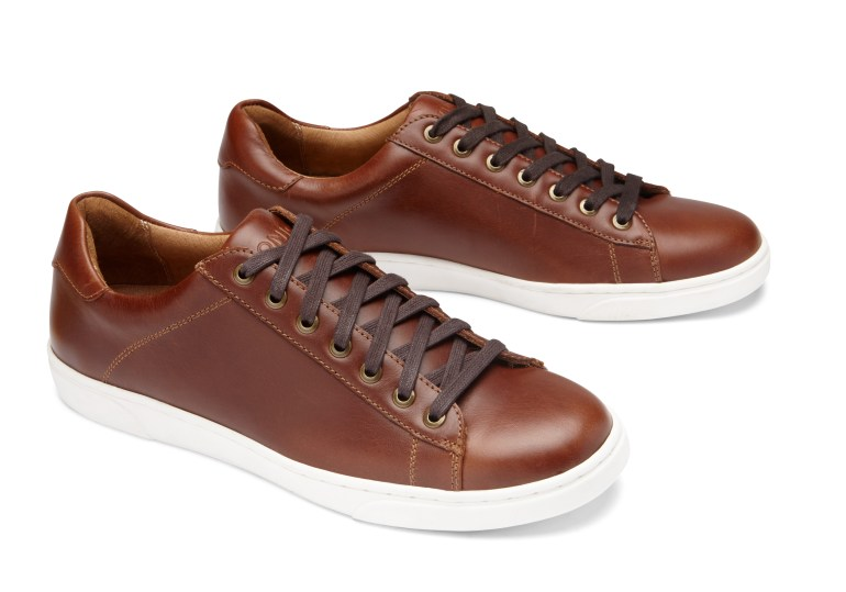 Leather Lace-Up Sneaker From Vionic