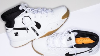 The UNDFTD x Nike Kobe 1 Protro 'White/Gum' Might Be The Best Looking Sneaker Getting Released During All-Star Weekend