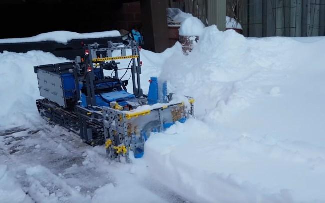 LEGO Snow Blower