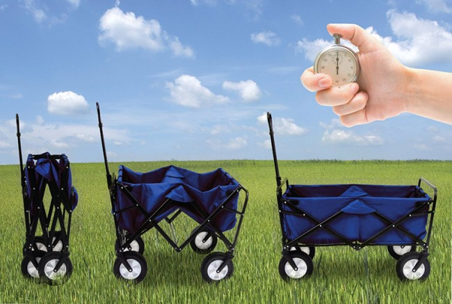 Mac Sports Collapsible Outdoor Utility Wagon Review