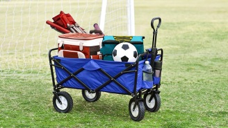 GEAR REVIEW: Save Your Back With Mac Sports' Extremely Handy Collapsible Outdoor Utility Wagon
