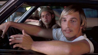 Matthew McConaughey Watching His 'Dazed And Confused' Audition Tape For The First Time Is Phenomenal