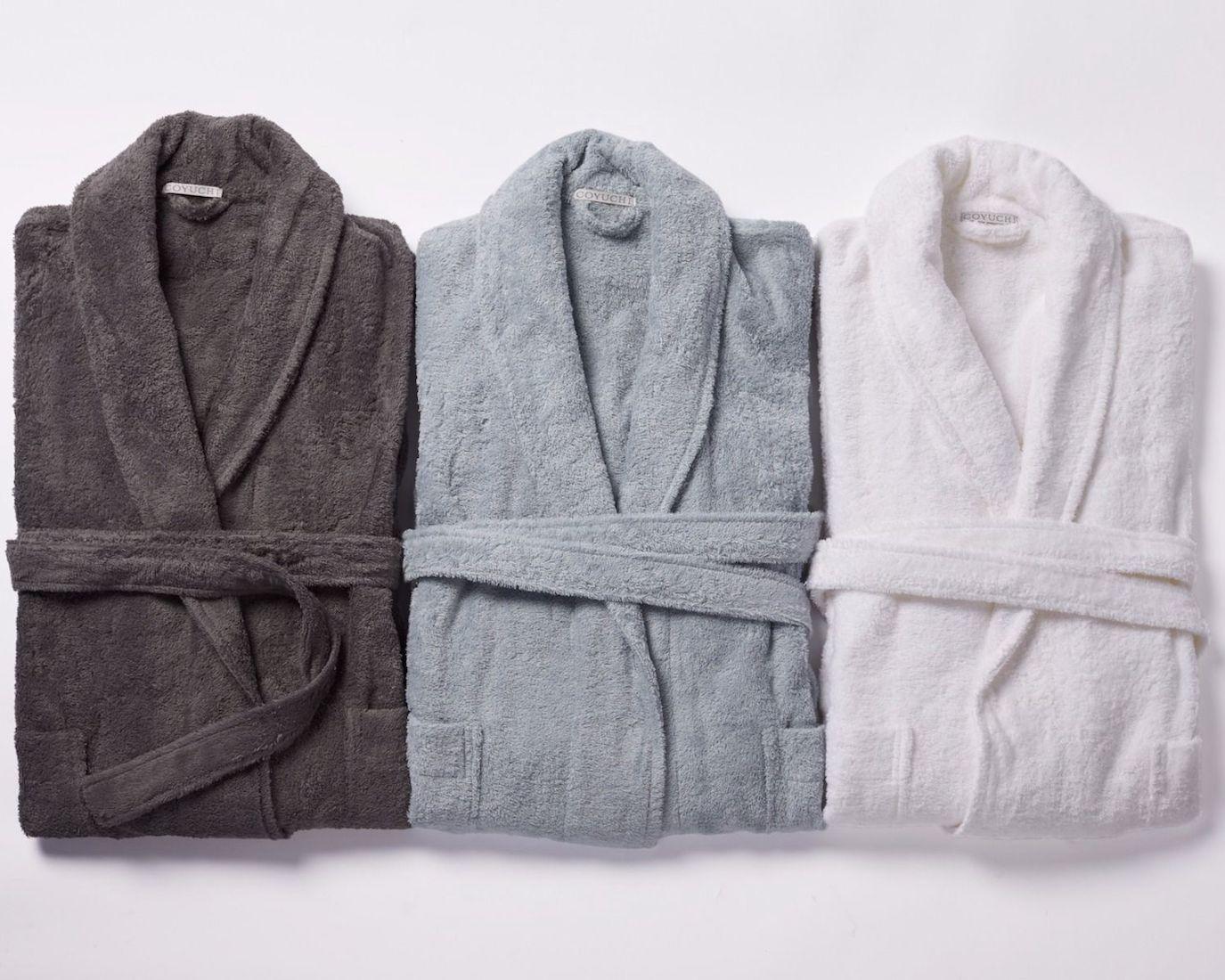 mens organic cotton robe