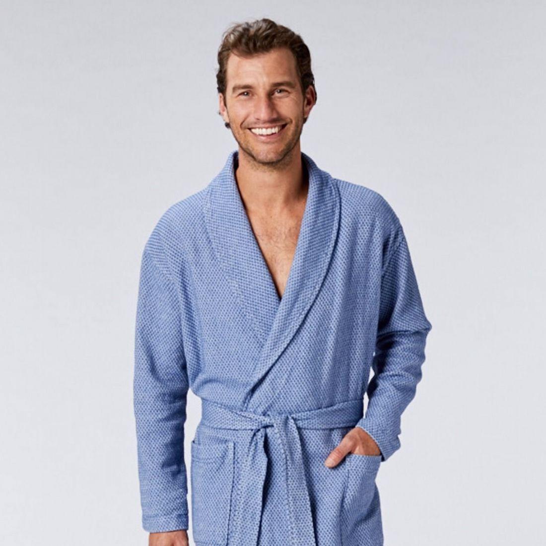 mens organic robe