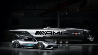 Mercedes-AMG And Cigarette Racing 515 Project ONE Racing Boat With 140 MPH Top Speed