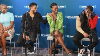 Michael B. Jordan Snuck Into Theater To Watch Movie With Fans, Lost A Funny Bet To Lupita Nyong'o