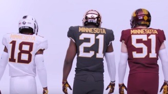 The Minnesota Gophers Football Team Unveils New Nike Uniforms With More Than 100 Available Combinations