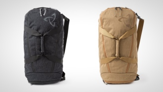 The 55L Mission Duffel-Backpack Is Your New Favorite Carry-On/Weekender Travel Bag