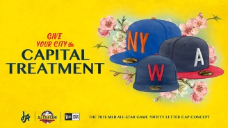 Incredible Designer Just Created Some New MLB ASG Concept Caps And Shirts That Are Truly Dope
