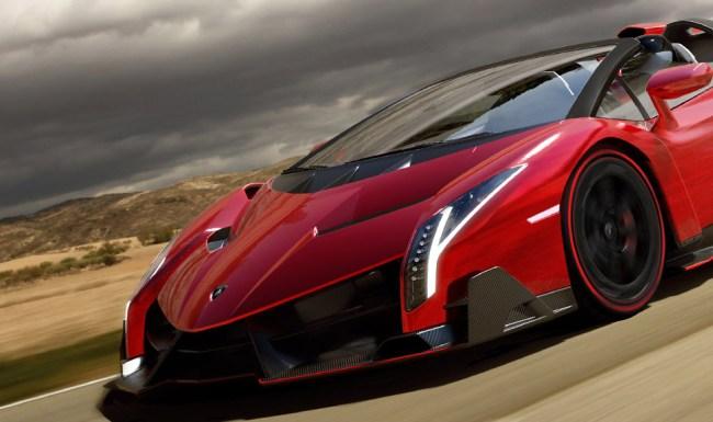 most expensive cars in the world Lamborghini Veneno Roadster