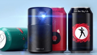 Anker's Awesome Nebula Capsule Projector Is The Size Of A Soda Can And 20% Off Right Now