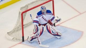 New York Rangers' Emergency Backup Goalie Wears Greatest Jersey Of All Time