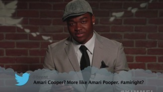 NFL Superstars Read 'Mean Tweets' On 'Kimmel' And Danny Amendola Gets Roasted