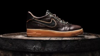 These Jack Daniel's Air Force 1's For NBA All-Star Weekend Are Siiiick