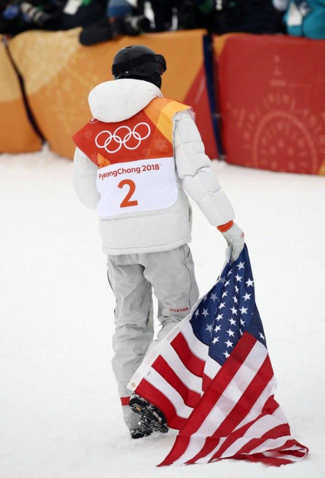 People Upset Shaun White American Flag Olympics