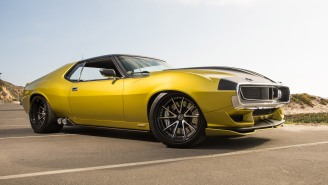 GEAR REVIEW: The 1,036 Horsepower, $500,000 Prestone AMC Javelin AMX Is An Absolute Beast