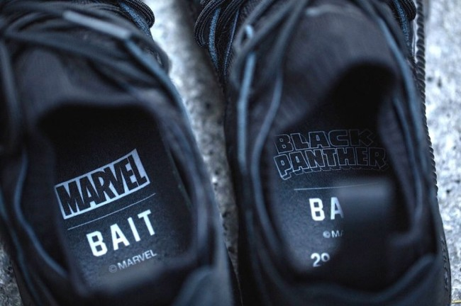 Puma Limited Black Panther Sneakers BAIT raffle