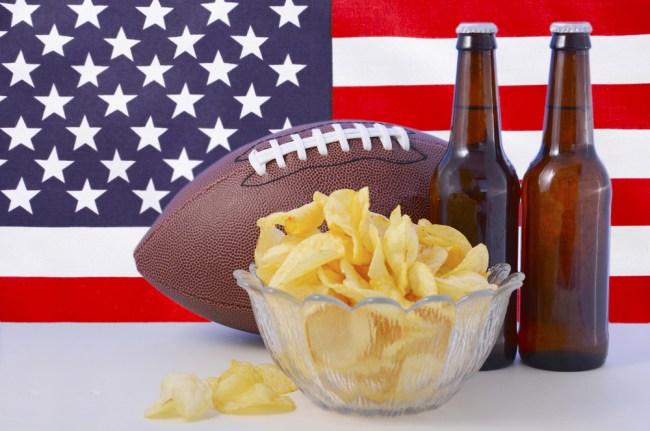 Football Beer America