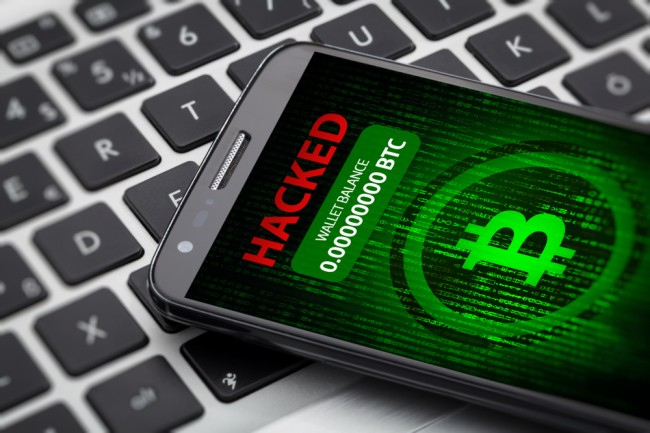 cryptocurrency smart phones hacked