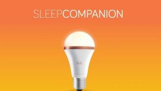 The SleepCompanion Light Bulb Enhances And Monitors Your Quality Of Sleep