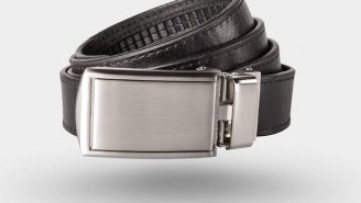 SlideBelt Ratchet Belt Eliminates The Pointless 'Holes' And Will Be The Last Belt You Ever Buy