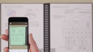 The Rocketbook Everlast Is A Reusable Smart Notebook From The Future