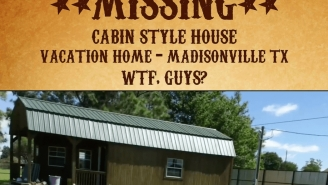 This Couple Had A Rough Start To Their Vacation When They Found Their Entire Cabin Had Been Stolen