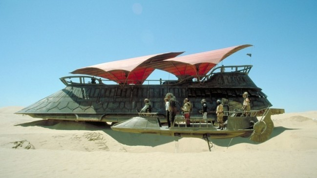 khetanna jabba's sail barge star wars
