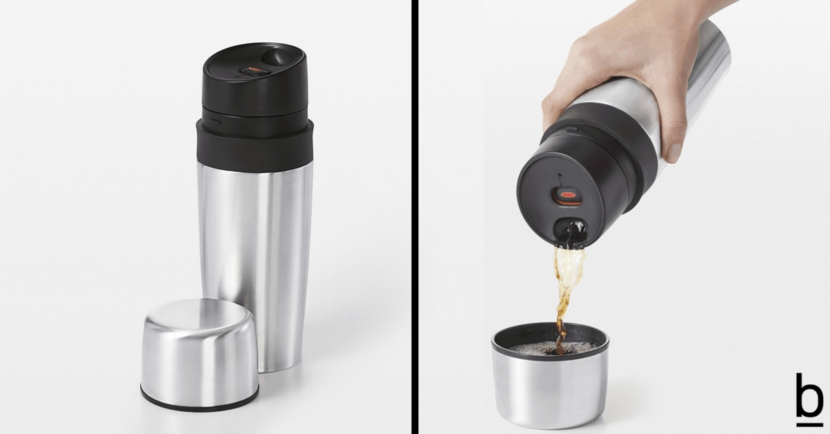 thermal travel mug cup