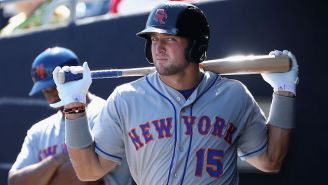 Watch Cy Young Winner Max Scherzer Strike Out Tim Tebow In 49 Seconds
