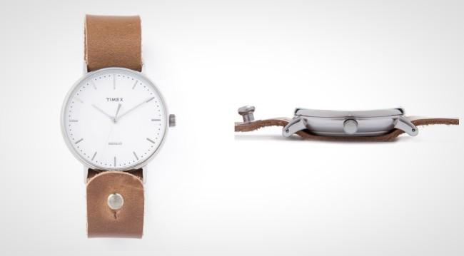 Timex Horween Leather Fairfield